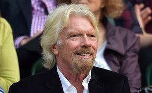 Le PDG du groupe Virgin Richard Branson.