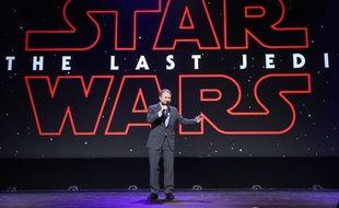 Le réalisateur de «Star Wars: Les Derniers Jedi», le 15 juillet 2017 à Anaheim, en Californie.
