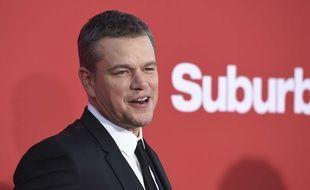 Matt Damon à Los Angeles, le 23 octobre 2017.