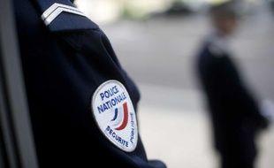 Illustration  sur la police nationale lors de la visite de Claude Guéant, ministre  de l'Intérieur, de l'Outre mer, des collectivités territoriales et de  l'Immigration au centre de commandement du commissariat de police et  l'inauguration de la préfecture de région, à Nantes le 4 avril 2011.