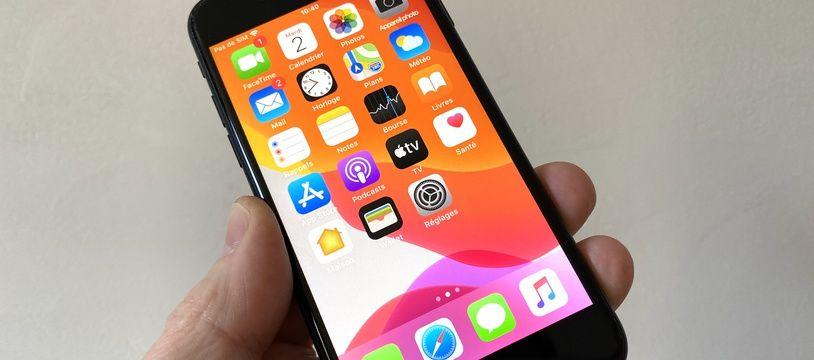 L'iPhone SE 2020 et son petit d'air d'iPhone vintage...