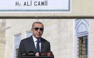 Le président turc Erdogan appelle au boycott des produits français