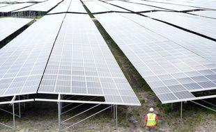 La centrale photovoltaïque de Cestas en Gironde