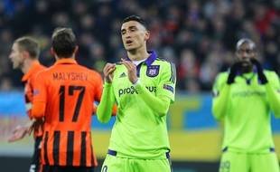 L'attaquant argentin Matias Suarez