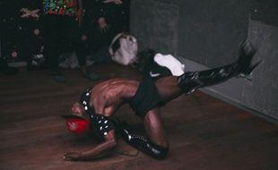 Un danseur de voguing dans le film de Romain Cieutat.