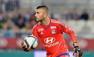 Anthony Lopes lors de Bordeaux-Lyon, le 29 septembre 2015.