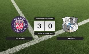 Ligue 2, 27ème journée: Le TFC bat Amiens 3-0 à domicile