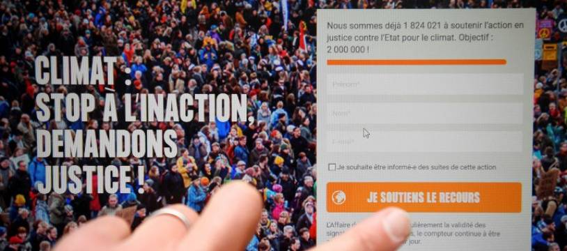 Le site a recueilli plus de deux million de signatures.