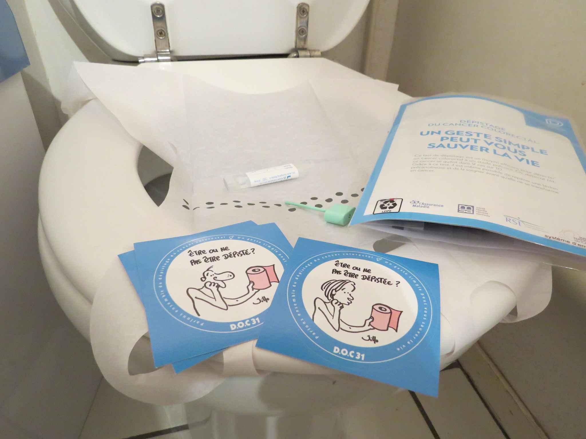 Nouvelle campagne de sensibilisation au dépistage du cancer colorectal — Mars bleu