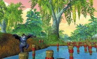 Dans «World of Warcraft: Mists of Pandaria», les pandas doivent être agiles.