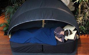 La start-up parisienne Nap&Up fournit les cocons de sieste au restaurant toulousain Sixta.