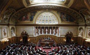 Vue du Sénat le 28 octobre 2014