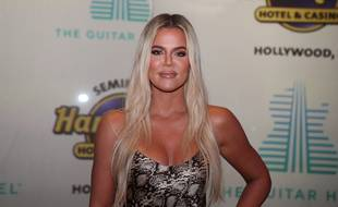 La star de téléréalité Khloe Kardashian