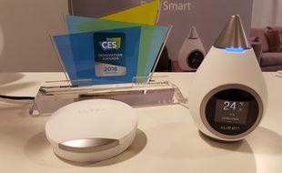 La jeune pousse Ween a remporté le CES Innovation Awards 2016.