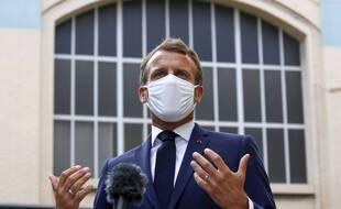Emmanuel Macron, le 28 août 2020.
