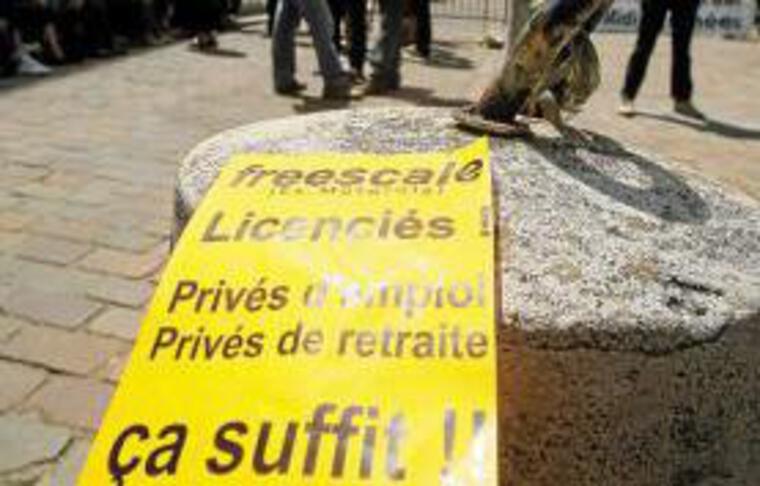 Des salariés de Freescale ont été reçus mardi à la préfecture.