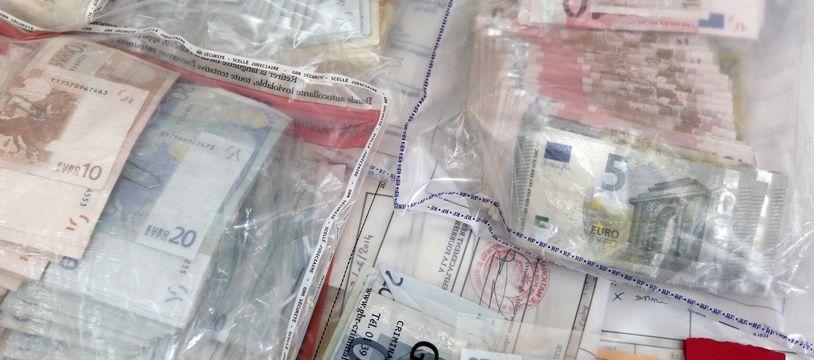 Alsace: Près de 100.000 euros retrouvés plusieurs années après le vol (Illustration)