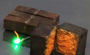 Des briques capables de stocker l'énergie