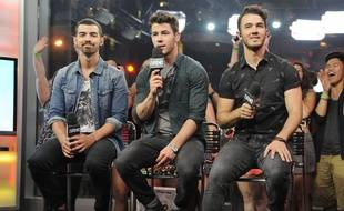 Les Jonas Brothers, Nick, Joe et Kevin
