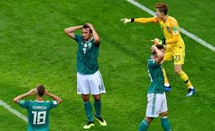 L'Allemagne quitte le Mondial par la petite porte
