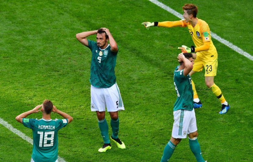 Coupe du monde 2018  «C est une heure sombre pour le football allemand»...  Les champions du monde en titre sortis dès les poules! Revivez la journée  avec ... 42c6fd660995