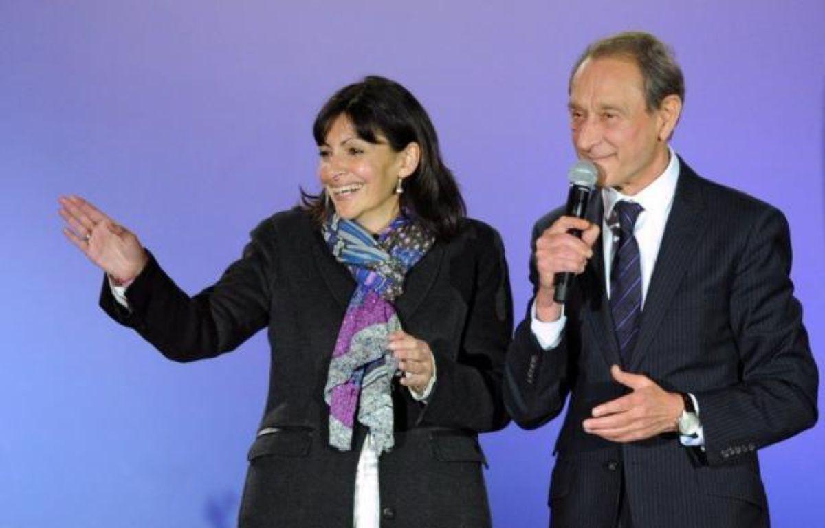 Anne Hidalgo, 53 ans, a donné dimanche le coup d'envoi de la campagne des municipales de 2014 à Paris, en annonçant sans surprise sa décision de briguer la succession de Bertrand Delanoë. – Franck Fife afp.com