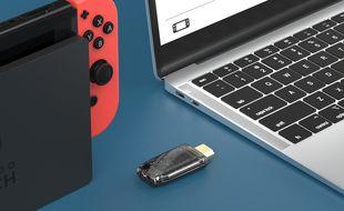 Un dongle pour jouer à la Switch et la PS5 sur son ordinateur portable