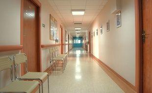 Illustration d'un hôpital.