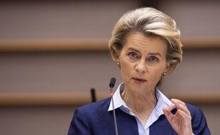 Ursula von der Leyen est la présidente de la Commission européenne depuis décembre 2019.