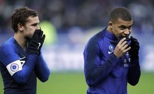 Antoine Griezmann et Kylian Mbappé peuvent espérer remporter le Ballon d'r 2018.