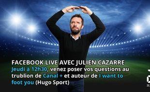 Julien Cazarre sera dans les locaux de 20 Minutes