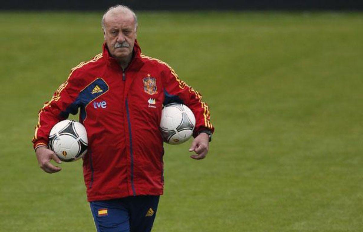 Le sélectionneur espagnol Vicente Del Bosque, le 16 juin 2012 à Gniewino. – REUTERS/Juan Medina