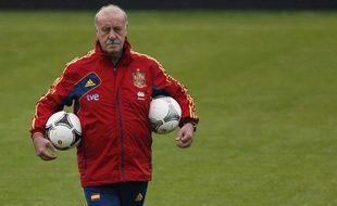 Le sélectionneur espagnol Vicente Del Bosque, le 16 juin 2012 à Gniewino.