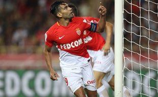 Radamel Falcao est l'homme fort de ce début de saison à Monaco