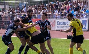 En 2014, Toulouse avait déjà dominé Carcassonne, cette fois en finale de Coupe de France.