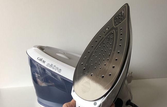 Le poids du fer à repasser ne doit pas excéder 1 kg pour ne pas fatiguer le poignet.