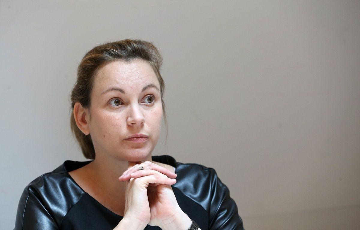 Axelle Lemaire, la secrétaire d'Etat chargée du Numérique, en visite dans les locaux de la société Dashlane, à Paris, le 5 octobre 2015. – Alain ROBERT/Apercu/SIPA
