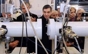 """François Fillon et Nathalie Kosciusko-Morizet, porte-parole de la campagne de Nicolas Sarkozy, sont entrés lundi soir dans la bataille pour un second mandat du chef de l'Etat et contre la """"social-démocratie molle"""" incarnée par François Hollande."""