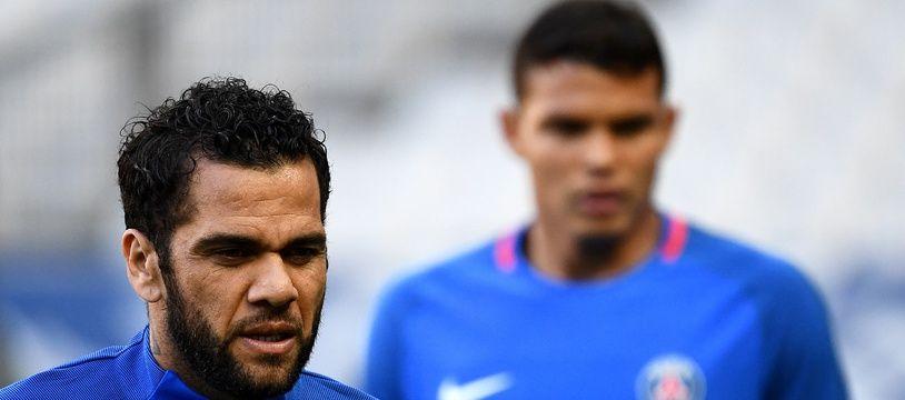 Les Parisiens Dani Alves et Thiago Silva font leur retour en Seleçao.