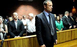 Oscar Pistorius au tribunal de Pretoria le 19 février 2013.