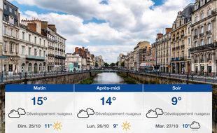 Météo Rennes: Prévisions du samedi 24 octobre 2020