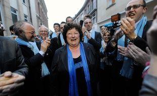 L'actuelle maire (UDI) d'Amiens, Brigitte Fouré.