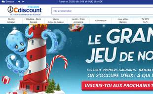 Cdiscount, leader français du e-commerce.