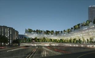 Dans le 17e, le projet «Milles arbres» est une véritable forêt qui constituera un petit village flottant