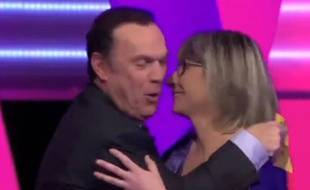 Julien Lepers dans le zap télé du 7 avril 2014