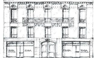Illustration de la maison de ventes PIASA