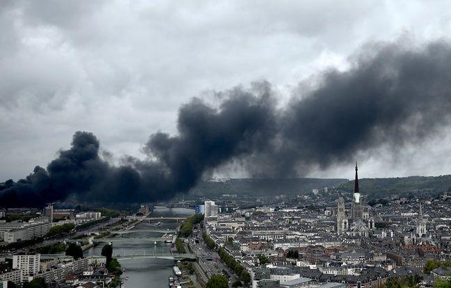 L'usine Lubrizol, classée Seveso, a pris feu dans la nuit de mercredi à jeudi à Rouen.