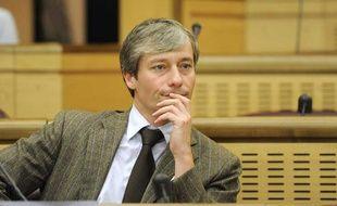 Le député UMP Laurent Henart au conseil régional de Lorraine à Metz le 26 mars 2010.