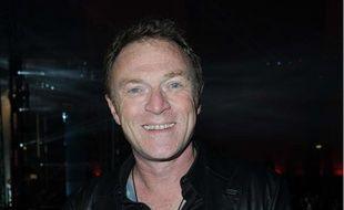 Christophe Hondelatte le 6avril2012à la soirée pour fêter les 20 ans de RadioFG.