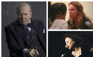 Gary Oldman dans «Les heures sombres», Charlize Theron dans «Monster» et Marion Cotillard dans «La Môme».